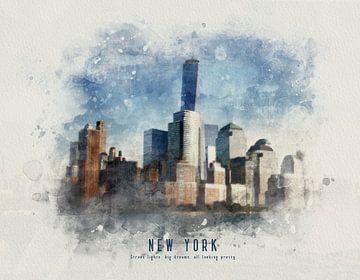 New York Manhattan van Christa van Gend