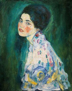 Portrait d'une dame, Gustav Klimt sur