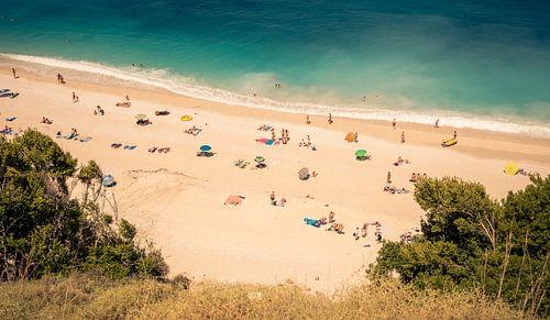 Chillen bij Myrthos Beach @ Kefalonia