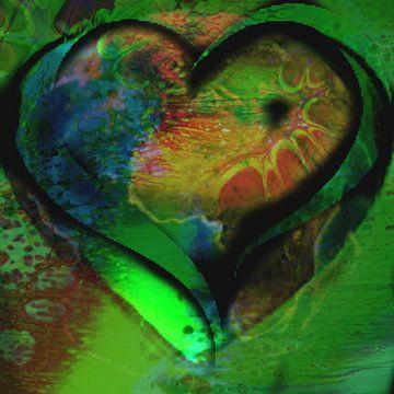 Groen hart van Kirsti's Kunst