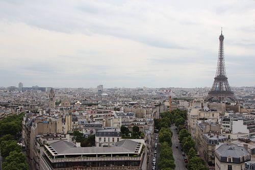Eiffeltoren in parijs von Judith Abrahams