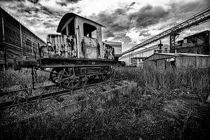verlaten fabriek van