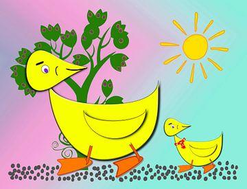 Ducky und Duckling von Rosi Lorz