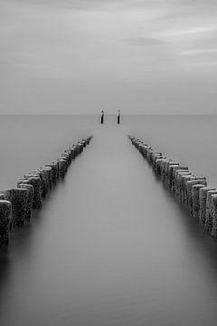 Strandposten Breskens von Peter Deschepper