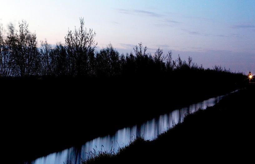 Uitzicht op Westbroek van Christiaan Krouwels