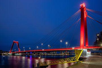 Willemsbrug -  Verbind Rotterdam van Fotografie Ploeg