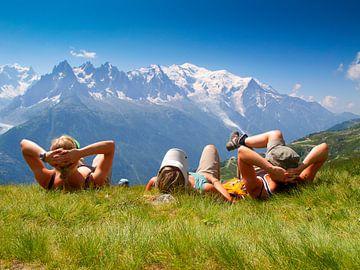Relaxen met de Mont Blanc van