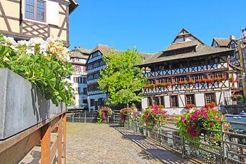 La Petite France, historische oude stadswijk van Straatsburg van Udo Herrmann