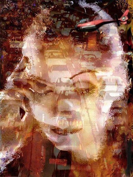 Greta Greta Garbo Pop Art van Leah Devora