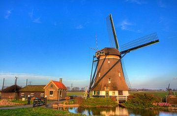 Een Oer-Hollandse  Molen van