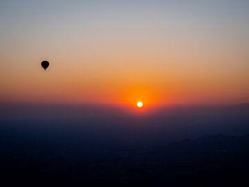 Met de ballon naar de zon van Rik Pijnenburg