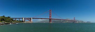 Golden gate brug San Francisco van Yannick uit den Boogaard