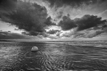 Die Boje am Ufer! von Peter Haastrecht, van