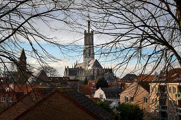 Die Kirche in der alten Festungsstadt von bart hartman