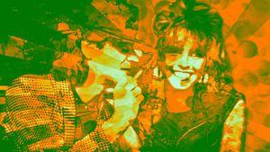 Udo Lindenberg und Nena Pop Art PUR Serie NO.2 van