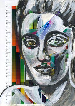 Bunte Frau von ART Eva Maria