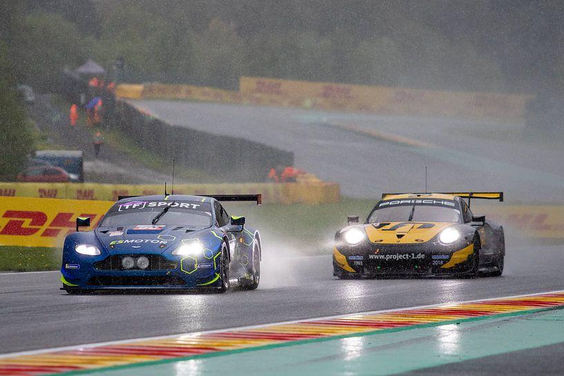 Total 6h von Spa, Aston Martin vs. Porsche von Rick Kiewiet