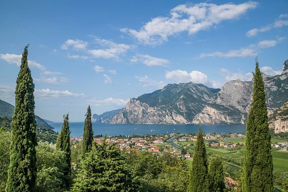 TORBOLE View to Lake Garda van Melanie Viola