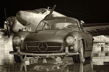 Mercedes 300 SL - Flügeltürer von Jan Keteleer