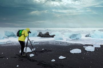 fotograaf op diamantstrand van Tilo Grellmann | Photography