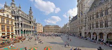 La grand'place de Bruxelles van Jean Pierre De Neef