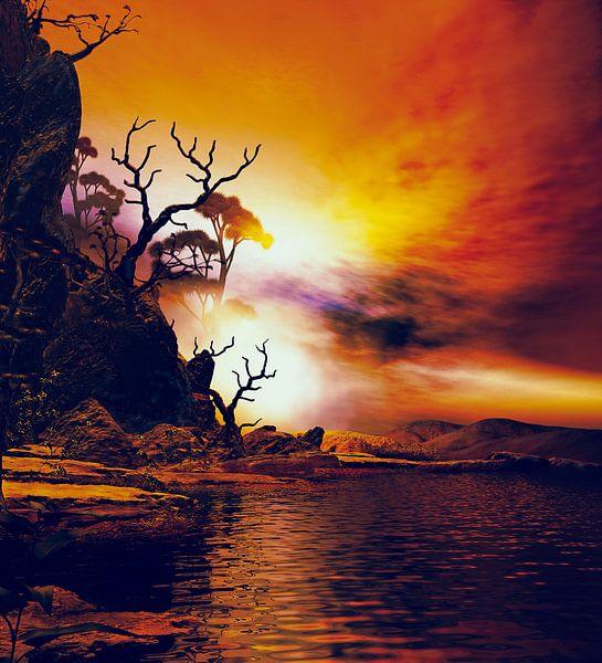 Beau crépuscule 2 van Angel Estevez