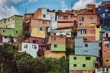 Comuna 13 Medellin von Ronne Vinkx