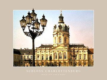 Slot Charlottenburg in Berlijn van Dirk H. Wendt