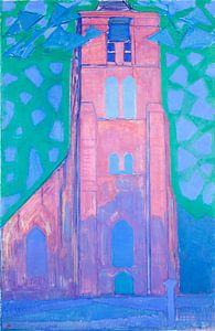 Piet Mondriaan. Zeeuwsche kerktoren van