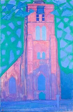 Piet Mondriaan. Zeeuwsche kerktoren