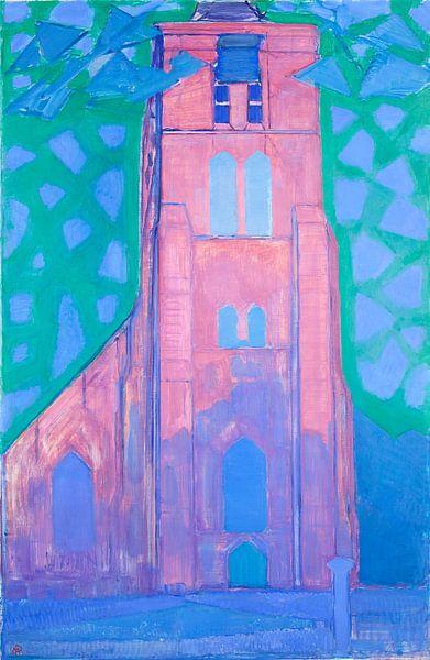 Piet Mondriaan. Zeeuwsche kerktoren von 1000 Schilderijen
