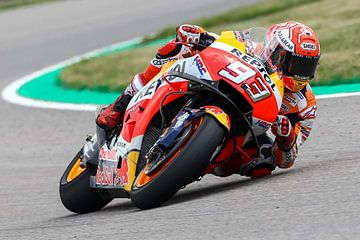 Marc Marquez, MotoGP Sachsenring Germany sur Marco Dek