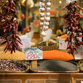 Marktplatz in Budapest von Rogier Vermeulen