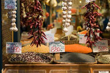 Markt in Boedapest van Rogier Vermeulen