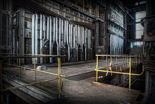 Verlaten energiecentrale 11