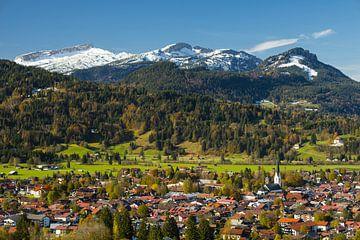 Oberstdorf im Herbst von Walter G. Allgöwer