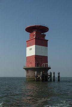 Leuchtturm Mellumplate von Norbert Sülzner