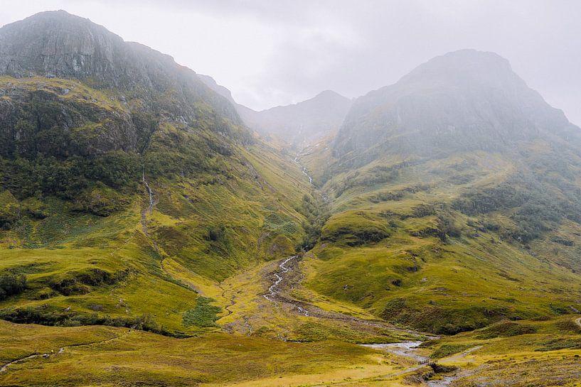 Glencoe in Schottland von Thea.Photo