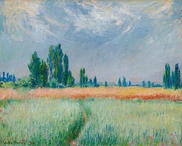 Champ De Blé, Claude Monet