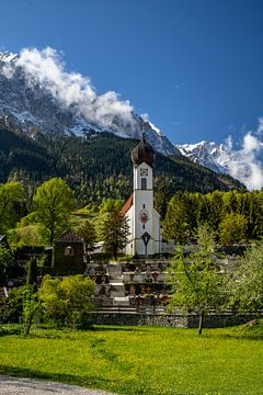 Zugspitzdorf Grainau in Bayern von Achim Thomae