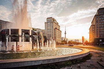 Berlin – Strausberger Platz von Alexander Voss