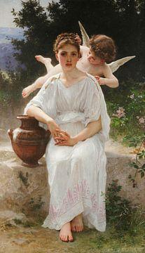 Liebesgeflüster, William-Adolphe Bouguereau