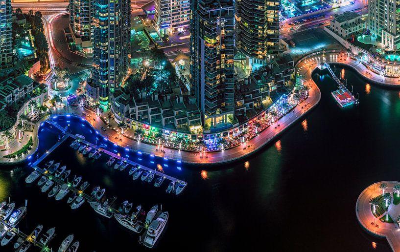 Dubai Marina Walk van Rene Siebring