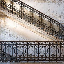 Trappenhuis Manicomio de R Italië van Ruud van der Aalst
