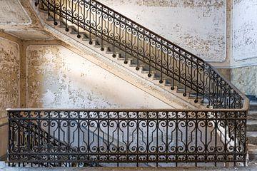 Treppenhaus Manicomio de R Italien von Ruud van der Aalst