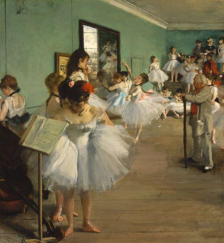 Edgar Degas, De balletklas van Meesterlijcke Meesters