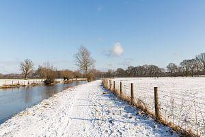 Winters landchap langs de Kromme Rijn