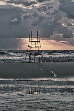 zicht op zee van Leanne lovink