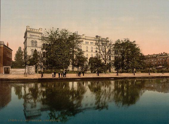 Ziekenhuis, Rotterdam van Vintage Afbeeldingen