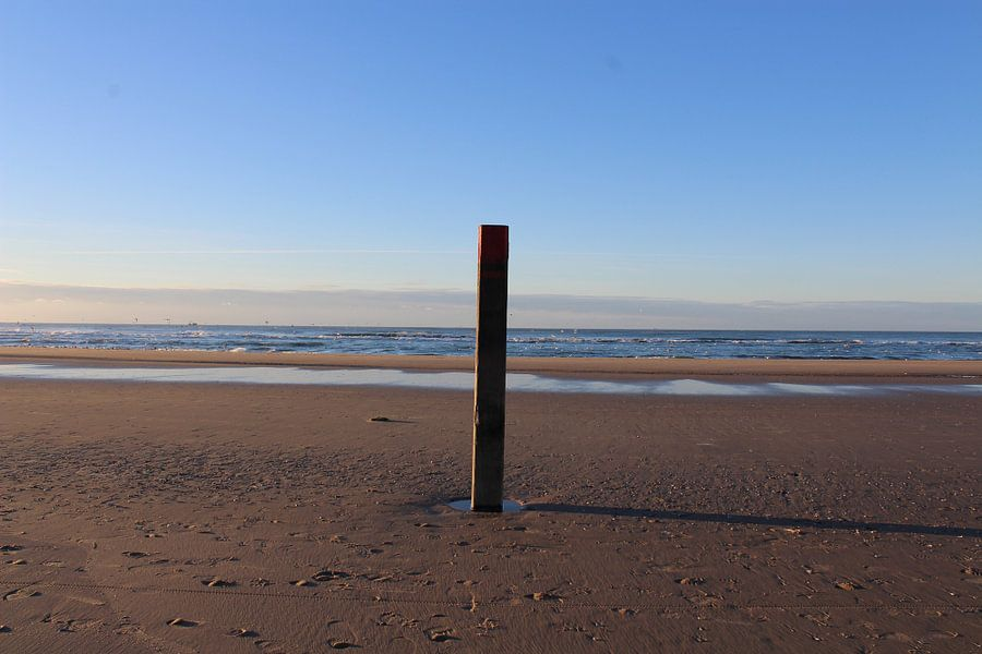 Strandpaal 20 Texel van Kevin Ruhe